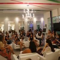 Lançamento do novo blog do salão de Dorinha