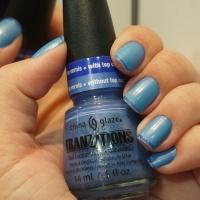 Unhas da Semana: Francesinha Azul!